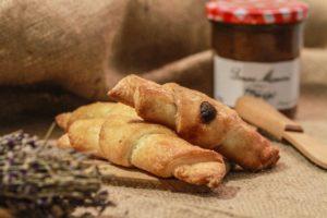 Manioka gluténmentes croissant
