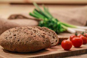 Manioka gluténmentes pékség kenyér