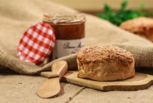 Manioka gluténmentes pékség gluténmentes zsemle