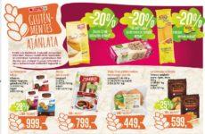 Gluténmentes termék akciók 2016. június