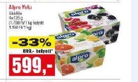Alpro joghurt alternatíva
