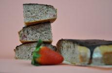 Epres piskótaszelet gluténmentesen csokimázzal - 30'