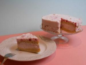 ribizlikrémes gluténmentes torta recept