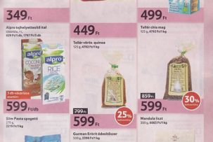 gluténmentes élelmiszerek olcsóbban