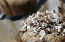 Zabpelyhes gluténmentes muffin édesítőszerrel