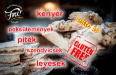 Az új Free gluténmentes pékség - éjjel is nyitva lesz!