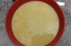 Kukorica krémleves - tejmentes és természetesen gluténmentes