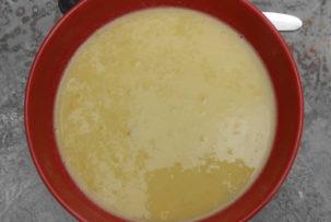 kukoricakrém leves gluténmentes recept