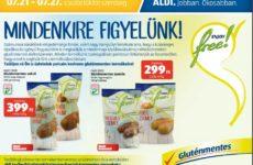 Gluténmentes termék akciók 2016 július második fele