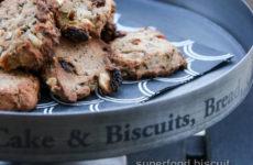 Superfood biscuit – finomság értékes alapanyagokból