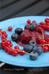 Villámgyors gluténmentes fagylalt recept