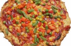Alternatív lisztmentes gluténmentes pizza 45 perc alatt