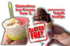 Glutenfree Ice-cream tour 2. - gluténmentes fagyizó tesztek