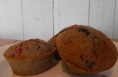 IR barát, gluténmentes zabpelyhes muffin