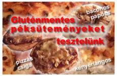 Gluténmentes péksütemények tesztje 1.