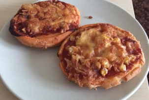 gluténmentes mini pizzás csiga