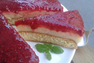 köles hamis mohitó gluténmentes torta