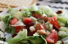Színes nyári saláta - gluténmentes recept