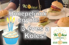 Az ízek változnak, a gluténmentesség örök! - 3 éves a Köles gluténmentes étterem