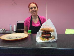 Tündré Tanya gluténmentes hamburger - Monától