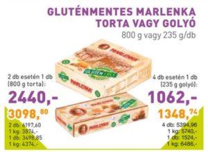 gluténmentes marlenka akció