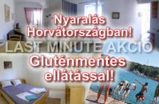 Gluténmentes nyaralás Horvátországban 2016 - last minute (x)