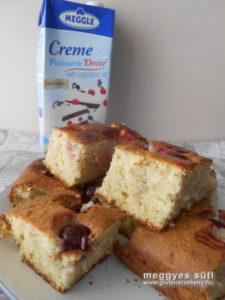 meggyes süti GM recept