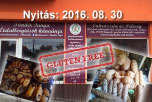 Tündér Tanya gluténmentes cukrászda és pékség