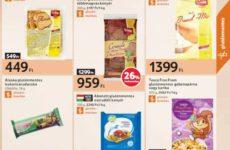 Gluténmentes termékek akciós listája 2016 szeptember