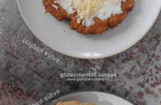 Köleses gluténmentes lángos recept - élelmi rostban gazdag- 2 féle sütési móddal