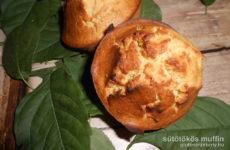 Sütőtökös gluténmentes muffin recept - tejmentesen