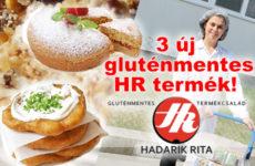 3 új termékkel bővül a Hadarik Rita gluténmentes termékcsalád