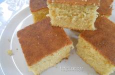 Olcsó gluténmentes sütemény recept - kukorica prósza