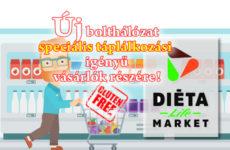 Újabb diétás szaküzletek nyílnak Diéta Life Market név alatt