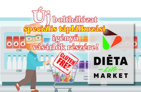 új gluténmentes bolthálózat - Diéta Life Market