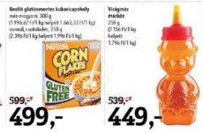 Gluténmentes termékek akciós listája 2016 november