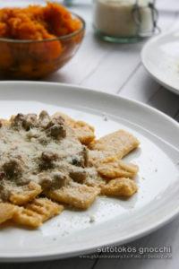 gluténmentes gnocchi sütőtökkel