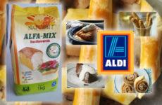 Jó hír - ALFA MIX gluténmentes lisztkeverék az ALDI-ban!