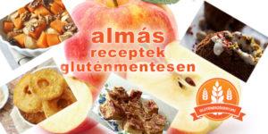 almás gluténmentes receptek