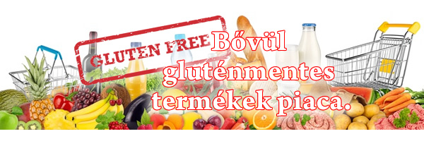 bővöl a gluténmentes termékek piaca
