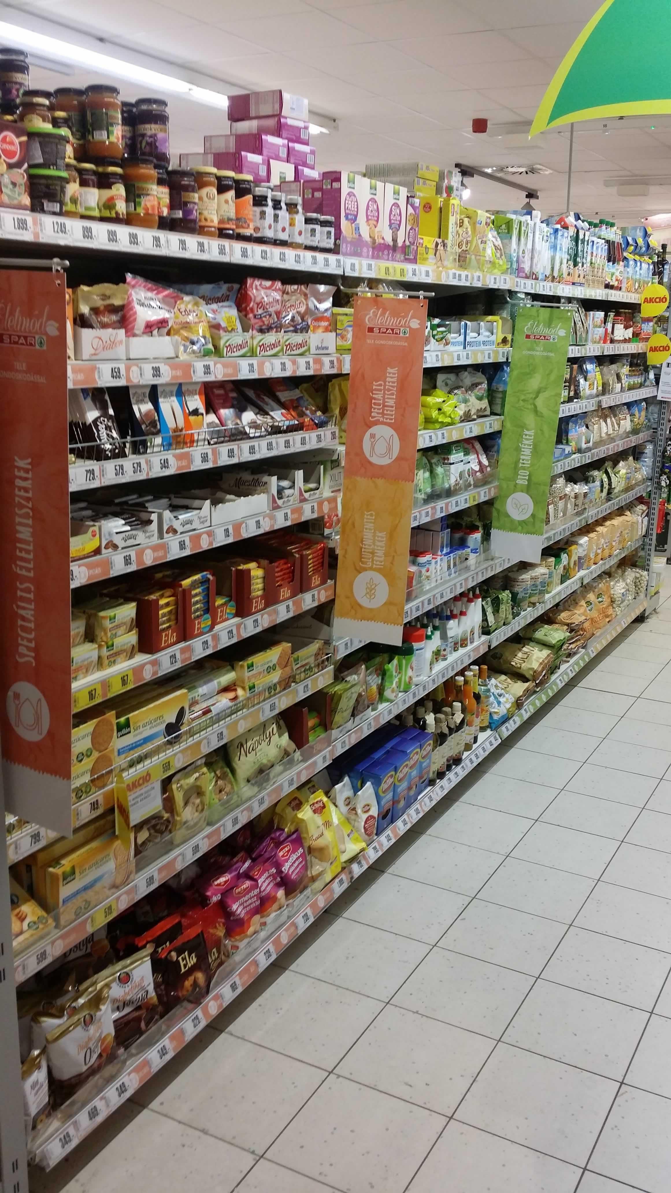 400eb4942f Gluténmentes élelmiszerek új jelölése a SPAR üzletekben