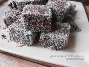 gluténmentes kókuszkocka recept