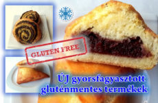 3 új mélyhűtött gluténmentes termék a Mester Család kínálatában