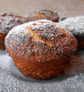 sütőtökös gluténmentes muffin recept