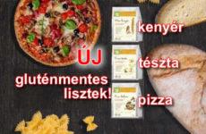 Új gluténmentes lisztkeverékek - kenyér, pizza, tészta