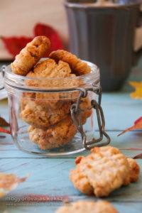 fahéjas mogyoróvajas gluténmentes keksz recept