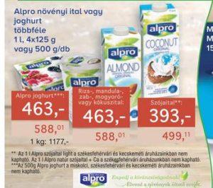 Alpro gluténmentes növényi élelmiszerek
