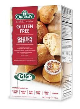 ORGRAN Gluténmentes gluténpótló por, univerzális 200g