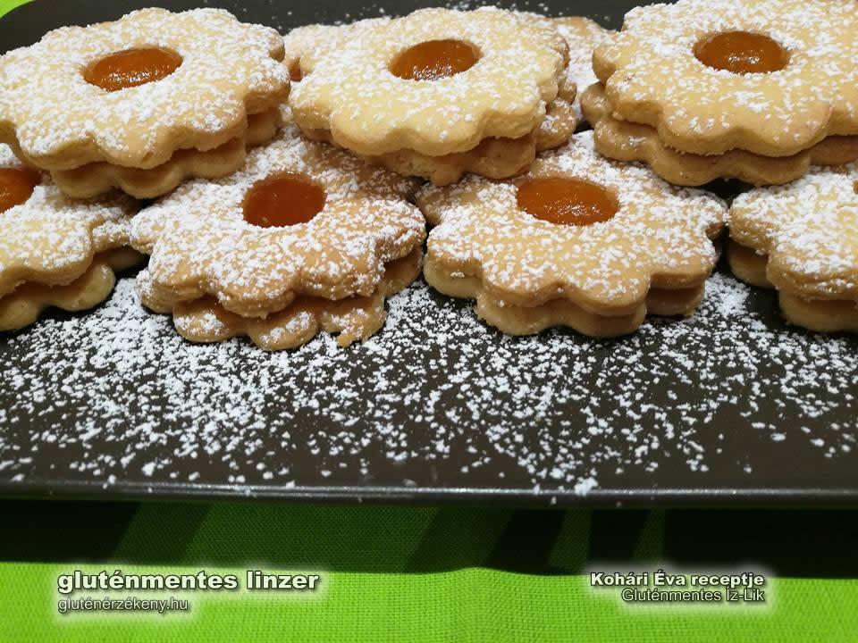 gluténmentes linzer recept Íz-Lik