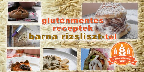 gluténmentes receptek barna riszliszttel